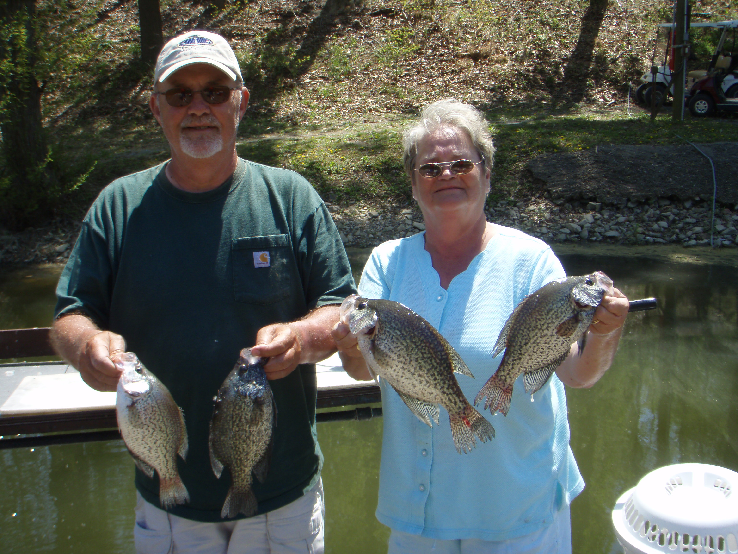 Holiday hills resort on lake barkley for Kentucky lake crappie fishing report